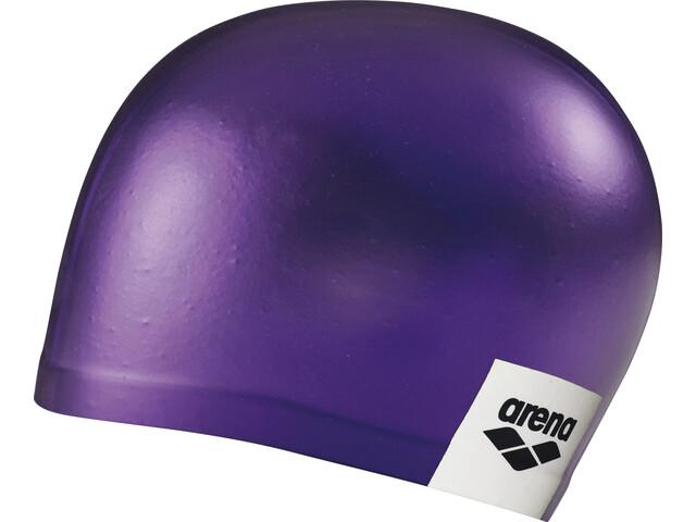 arena Logo Moulded Swimming Cap purple